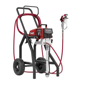 Electric airless spraying machine